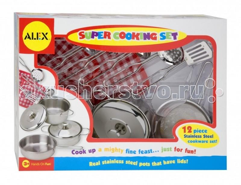 Alex Набор посуды Супер кулинар 12 предметов