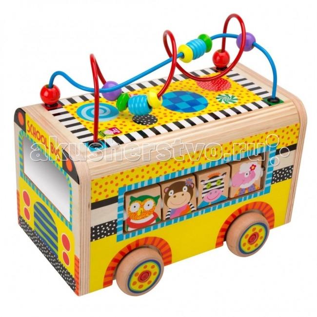 Деревянная игрушка Alex Веселый автобус