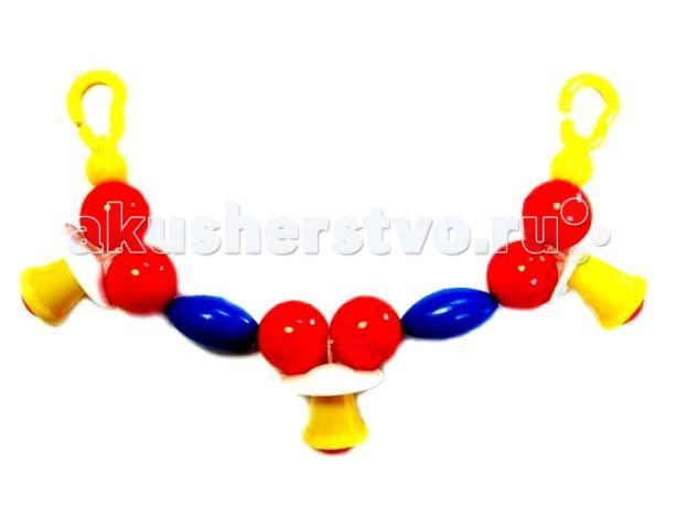 Аэлита Подвеска КарамелькиПодвеска КарамелькиАэлита Подвеска Карамельки.  Подвеска Карамельки - это гирлянда, созданная специально для малышей, ведь она изготовлена из качественного пластика, который абсолютно безопасен для ребенка. Карамельки можно подвесить на кроватку или в коляску малышу, чтобы ребенок мог играть с игрушкой перед сном. У подвески есть специальные крючки-крепления, с помощью которых растяжку можно будет подвесить в нужное место. Внимание! Цвета элементов подвески могут отличаться от представленных на фото.<br>