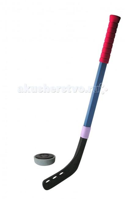 SafSof  Клюшка хоккейная 50 см + шайба