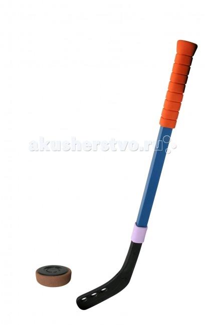 SafSof  Клюшка хоккейная 70 см + шайба