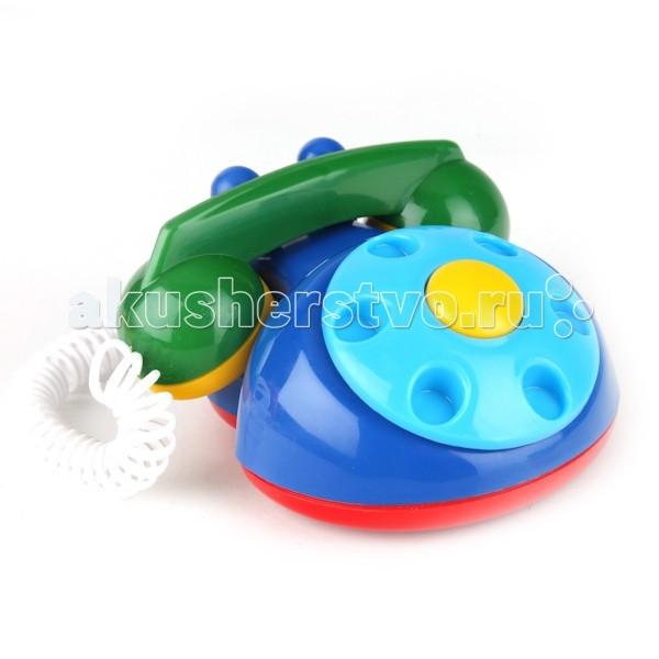 Развивающая игрушка Аэлита Детский телефон на спиральном шнуре