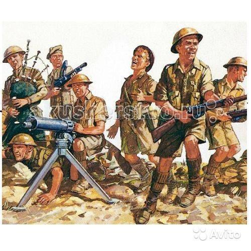 Revell Фигуры 8-я британская армия 2-я МВ