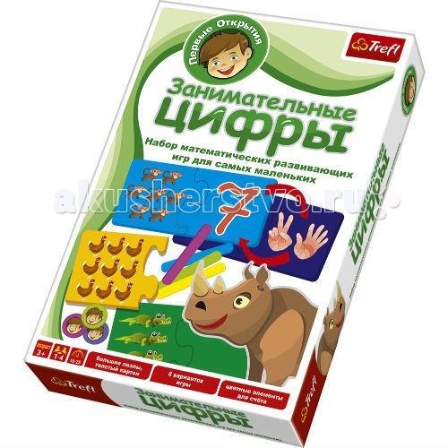Trefl Настольная игра для малышей Первые открытия Занимательные цифры