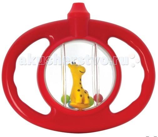 Погремушка Курносики СвистулькаСвистулькаПогремушка Курносики Свистулька развивает слух, воображение, концентрацию внимания, цветовое восприятие, контролируемые хватательные движения.   Очень удобна для детских ручек.  В основании погремушки расположен свисток с веселой зверушкой.   Цвета в ассортименте<br>