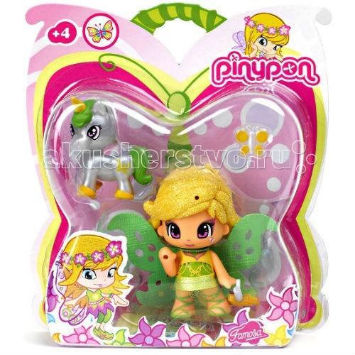 Famosa Кукла Пинипон - волшебница зеленая фея и единорогКукла Пинипон - волшебница зеленая фея и единорогFamosa Кукла Пинипон - волшебница зеленая фея и единорог - куколки Пинипон – великие модники, они постоянно придумывают новые образы и воплощают их в жизнь. Пинипоны уже были принцессами, фруктами, пирожными и даже монстриками, теперь они – русалочки и феи!   Это обновленная версия полюбившихся малышкам кукол Пинипон Фея с единорогом. Кукла стала еще ярче, у нее изменились аксессуары и внешний вид.   В наборе: 1 куклу Пинипон фею, единорога и съемные аксессуары.   Высота куклы: 7 см<br>