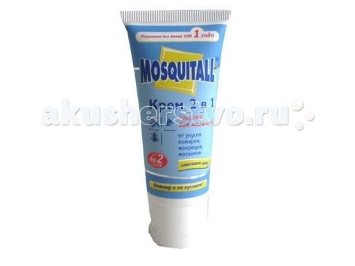 Mosquitall Крем от комаров Нежная защита для детей 30 мл