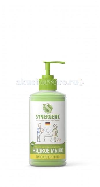 Synergetic Мыло жидкое 250 млМыло жидкое 250 млSynergetic Мыло жидкое биоразлагаемое.  Особенности: Концентрированное жидкое мыло подходит для бережного очищения кожи от любых загрязнений,обладает приятным ароматом.  Особая формула интенсивно питает и защищает Вашу кожу.  За счёт полностью натурального состава обладает 100% смываемостью, безопасно для детей и животных, подходит для интимной гигиены.  Подходит для использования в качестве геля для душа.  Эффективно устраняет запахи и загрязнения даже в ледяной воде.<br>