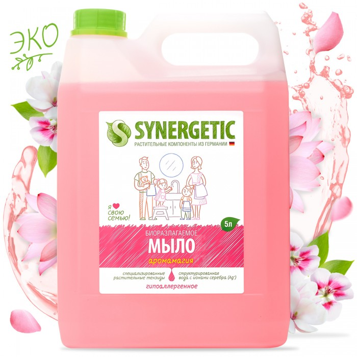 Synergetic Мыло жидкое 5 л