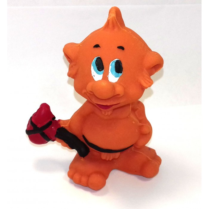 Lanco Латексная игрушка Йети 10557Латексная игрушка Йети 10557Lanco Латексная игрушка Йети 10557 для детей от трех месяцев.  Латексные игрушки Lanco удобно и комфортно держать в детской руке. С ними можно играть в ванной, в кроватке, в автомобиле, во время путешествий в поезде, на самолете, на пароходе.  Эти игрушки способствуют развитию воображения ребенка, способствуют развитию мелкой моторики.  Чем замечательны латексные игрушки Lanco? - уникальность - эксклюзивное качество - отсутствие аналогов.  Игрушки производятся из безвредного, экологически чистого 100% натурального сырья – латекса – без химических и минеральных добавок, этот материал нелипкий, приятный и мягкий на ощупь, для него характерно отсутствие запаха.  Особенности игрушек Lanco: Латексные игрушки Lanco прошли сертификацию как в Европе, так и в России Играя с латексными игрушками Lanco невозможно травмироваться, невозможно откусить, оторвать детали от них При растягивании любая латексная игрушка Lanco увеличивается до 7 раз, возвращаясь в исходное положение, не деформируясь. В производстве этих игрушек используются натуральные пищевые красители, которые наносятся на латексные игрушки Lanco вручную. Латексные игрушки Lanco привлекают яркостью красок, и цветовая гамма разработана совместно с психологами.  Материал: - производство из безвредного, экологически чистого 100% натурального сырья – латекса – без химических и минеральных добавок - нелипкий - приятный и мягкий на ощупь - отсутствие запаха.  Использование: - латексные игрушки Lanco легко моются в теплой воде с нейтральным мылом, при этом красители не линяют - латексные игрушки Lanco удобно и комфортно держать в детской руке - с латексными игрушками Lanco можно играть в ванной, в кроватке, в автомобиле, во время путешествий в поезде, на самолете, на пароходе.  Красители: натуральные пищевые красители, которые наносятся на латексные игрушки Lanco вручную - устойчивость красителей к воздействию слюны - красители, используемые при производстве лате