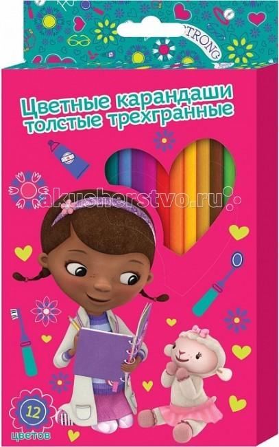 Doctor Plusheva цветные толстые 12 цветов 25634