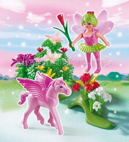 Конструктор Playmobil Принцесса: Сказочная Принцесса Весны с летающей лошадкой