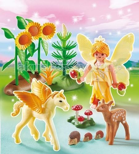 Конструктор Playmobil Принцесса: Сказочная Принцесса Осени с летающей лошадкой