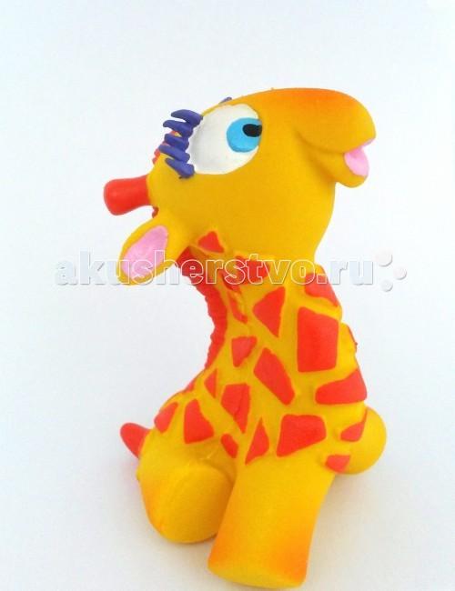 Lanco Латексная игрушка Жираф-мальчик 1207Латексная игрушка Жираф-мальчик 1207Lanco Латексная игрушка Жираф-мальчик 1207 для детей от трех месяцев.  Латексные игрушки Lanco удобно и комфортно держать в детской руке. С ними можно играть в ванной, в кроватке, в автомобиле, во время путешествий в поезде, на самолете, на пароходе.  Эти игрушки способствуют развитию воображения ребенка, способствуют развитию мелкой моторики.  Чем замечательны латексные игрушки Lanco? - уникальность - эксклюзивное качество - отсутствие аналогов.  Игрушки производятся из безвредного, экологически чистого 100% натурального сырья – латекса – без химических и минеральных добавок, этот материал нелипкий, приятный и мягкий на ощупь, для него характерно отсутствие запаха.  Особенности игрушек Lanco: Латексные игрушки Lanco прошли сертификацию как в Европе, так и в России Играя с латексными игрушками Lanco невозможно травмироваться, невозможно откусить, оторвать детали от них При растягивании любая латексная игрушка Lanco увеличивается до 7 раз, возвращаясь в исходное положение, не деформируясь. В производстве этих игрушек используются натуральные пищевые красители, которые наносятся на латексные игрушки Lanco вручную. Латексные игрушки Lanco привлекают яркостью красок, и цветовая гамма разработана совместно с психологами.  Материал: - производство из безвредного, экологически чистого 100% натурального сырья – латекса – без химических и минеральных добавок - нелипкий - приятный и мягкий на ощупь - отсутствие запаха.  Использование: - латексные игрушки Lanco легко моются в теплой воде с нейтральным мылом, при этом красители не линяют - латексные игрушки Lanco удобно и комфортно держать в детской руке - с латексными игрушками Lanco можно играть в ванной, в кроватке, в автомобиле, во время путешествий в поезде, на самолете, на пароходе.  Красители: натуральные пищевые красители, которые наносятся на латексные игрушки Lanco вручную - устойчивость красителей к воздействию слюны - красители, используем