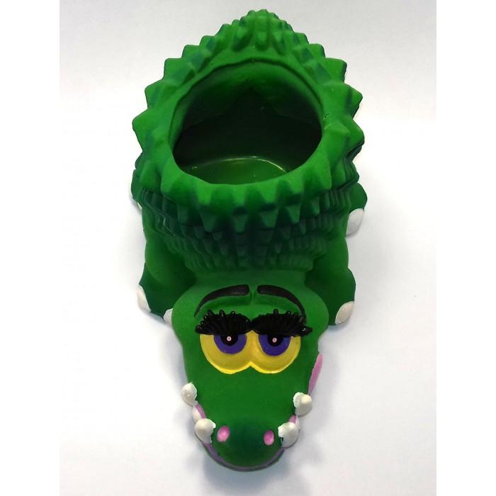 Lanco Латексная игрушка Крокодил 4142Латексная игрушка Крокодил 4142Lanco Латексная игрушка Крокодил 4149 для детей от трех месяцев.  Латексные игрушки Lanco удобно и комфортно держать в детской руке. С ними можно играть в ванной, в кроватке, в автомобиле, во время путешествий в поезде, на самолете, на пароходе.  Эти игрушки способствуют развитию воображения ребенка, способствуют развитию мелкой моторики.  Чем замечательны латексные игрушки Lanco? - уникальность - эксклюзивное качество - отсутствие аналогов.  Игрушки производятся из безвредного, экологически чистого 100% натурального сырья – латекса – без химических и минеральных добавок, этот материал нелипкий, приятный и мягкий на ощупь, для него характерно отсутствие запаха.  Особенности игрушек Lanco: Латексные игрушки Lanco прошли сертификацию как в Европе, так и в России Играя с латексными игрушками Lanco невозможно травмироваться, невозможно откусить, оторвать детали от них При растягивании любая латексная игрушка Lanco увеличивается до 7 раз, возвращаясь в исходное положение, не деформируясь. В производстве этих игрушек используются натуральные пищевые красители, которые наносятся на латексные игрушки Lanco вручную. Латексные игрушки Lanco привлекают яркостью красок, и цветовая гамма разработана совместно с психологами.  Материал: - производство из безвредного, экологически чистого 100% натурального сырья – латекса – без химических и минеральных добавок - нелипкий - приятный и мягкий на ощупь - отсутствие запаха.  Использование: - латексные игрушки Lanco легко моются в теплой воде с нейтральным мылом, при этом красители не линяют - латексные игрушки Lanco удобно и комфортно держать в детской руке - с латексными игрушками Lanco можно играть в ванной, в кроватке, в автомобиле, во время путешествий в поезде, на самолете, на пароходе.  Красители: натуральные пищевые красители, которые наносятся на латексные игрушки Lanco вручную - устойчивость красителей к воздействию слюны - красители, используемые при производ