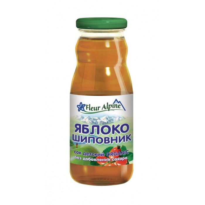 Fleur Alpine Сок Яблоко-шиповник с 5 мес. 200 мл