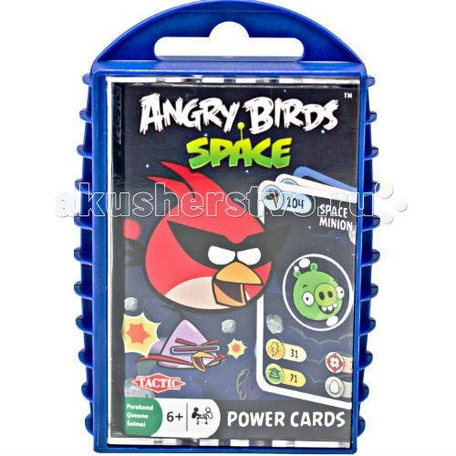 Trefl Игра с карточками Angry Birds Космос