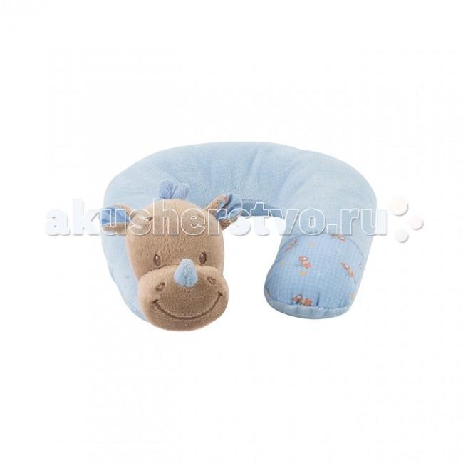 Nattou Подушка-подголовник Neck pillow ArthurLouis Носорог