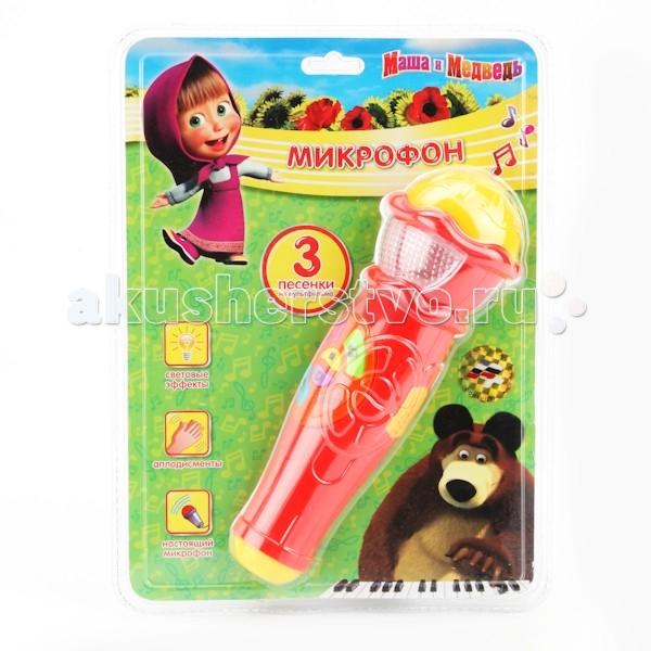 Музыкальная игрушка Играем вместе Микрофон Маша и Медведь A848-H05031-R2