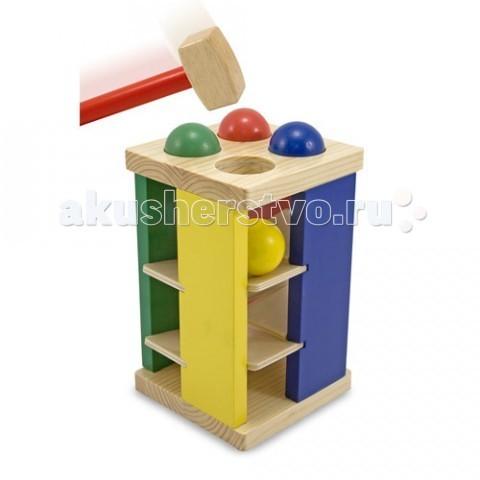 Деревянная игрушка Melissa & Doug Классическая Игра с молотком