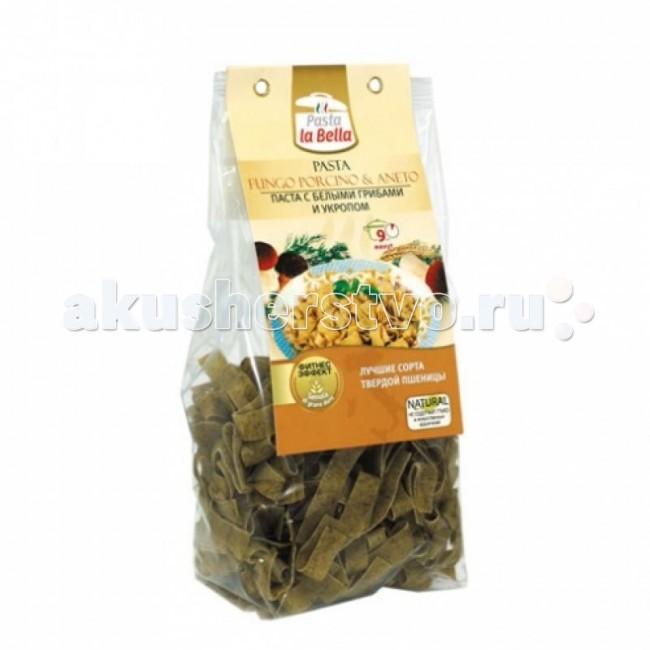 Pasta la Bella Baby Макароны с белыми грибами и укропом 250 г