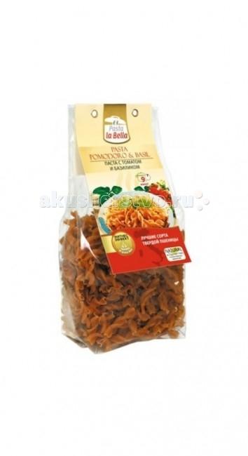Pasta la Bella Baby Макароны Томат и базилик 250 г