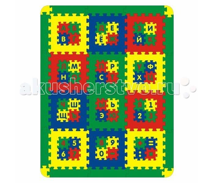 Игровой коврик Тедико Алфавит+Цифры