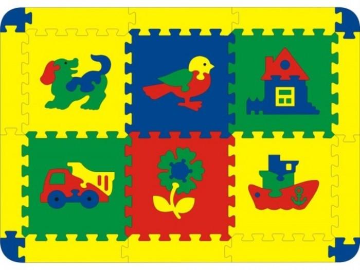 Игровой коврик Тедико Ассорти 6 деталей