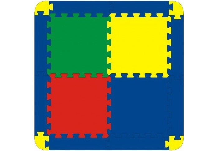 Игровой коврик Тедико 4 детали4 деталиИгровой коврик Тедико 4 детали выполнен из мягкого, прочного, нетоксичного и абсолютно безопасного материала, она развивает у ребёнка память, воображение, фантазию, моторику, пространственное и логическое мышление.  Полимерный материал, из которого выполнены изделия ,обладает теплоизоляционными свойствами, что обеспечивает комфорт и удобство в использовании, в виде напольного покрытия в детской, ванной или игровой комнате.<br>