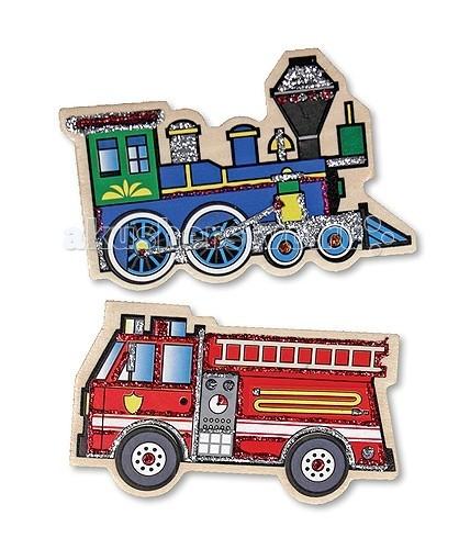 Деревянная игрушка Melissa & Doug Магнитные игры - Транспорт