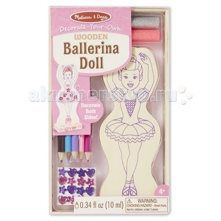 Деревянная игрушка Melissa & Doug Классические игрушки Балерина