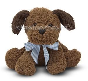 Мягкая игрушка Melissa &amp; Doug Шоколадный щенокШоколадный щенокМягкая игрушка Melissa & Doug Шоколадный щенок - милый щенок станет прекрасным подарком для ребенка, который не оставит равнодушным ни ребенка, ни взрослого и вызовет улыбку у каждого, кто его увидит.   Если Вы нежно нажмете на животик, то щенок продемонстрирует свою привязанность Вам, Вы услышите Гав, гав, гав. Этот очаровательный щенок имеет два оттенка меха, темно и светло шоколадный, а ещё у него есть стильный бантик голубого цвета, в клеточку. Он такой мягкий и гладкий, что Ваш малыш не захочет выпускать его из рук.  Мягкая игрушка компании Melissa & Doug отличается высоким стандартом качества и безопасности детских товаров. Игрушка мастерски выполнена из материалов высочайшего качества.<br>