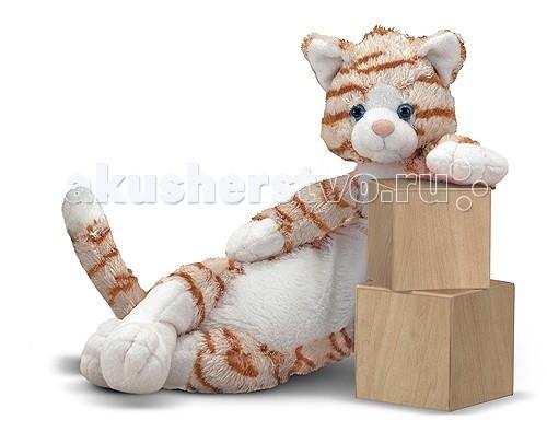 Мягкая игрушка Melissa &amp; Doug Кот 7453Кот 7453Мягкая игрушка Melissa & Doug Кот 7453 - милый котик станет прекрасным подарком для ребенка, который не оставит равнодушным ни ребенка, ни взрослого и вызовет улыбку у каждого, кто его увидит.   У этого прелестного котика окрас, как у настоящего тигра, у него мягкий и бархатистый животик, обладает длиной тела от носа до хвоста, почти 54 см.   Он ищет себе настоящего маленького друга. У него идеальный размер и форма, чтобы обнимать и прижимать его к себе.   Мягкая игрушка компании Melissa & Doug отличается высоким стандартом качества и безопасности детских товаров. Игрушка мастерски выполнена из материалов высочайшего качества.<br>