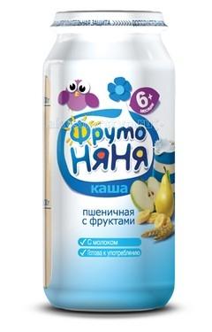 ФрутоНяня Молочная пшеничная каша с фруктами с 6 мес. 250 г