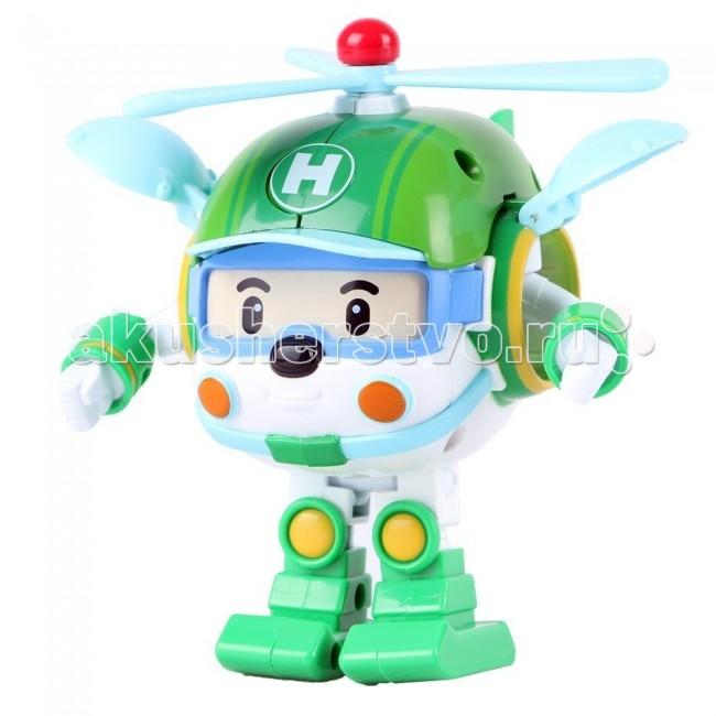 Robocar Poli Вертолет Хэли трансформер 7,5 смВертолет Хэли трансформер 7,5 смХэли является героем знаменитого по всему миру мультфильма.  Сюжетно-ролевые игры с использованием машинок-трансформеров от компании Silverlit способствуют развитию воображения и пространственного мышления, мелкой моторики рук вашего ребенка, формируют грамотную речь. Все главные герои мультсериала - это одна, едина и дружная команда спасателей, других жителей города, представленных создателями мультика в образе забавных игрушечных машинок.  Трансформируется из вертолета в робота и обратно, но в высоту всего 7,5 сантиметров, а в длину в форме вертолетика 6 сантиметров Его очень удобно взять с собой в дорогу: в гости или в отпуск! Когда игрушка находится в состоянии робота, то у неё можно двигать конечности. Игрушка выполнена из нетоксичного пластика, который не вызывает аллергии. Размер подарочной картонной упаковки с прозрачной передней стенкой: 11 х 14 х 8 см. Вес игрушки с упаковкой: 140 грамм.<br>