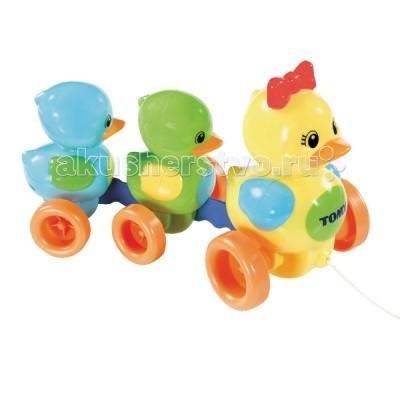 Каталка-игрушка Tomy Веселая Утиная семейка