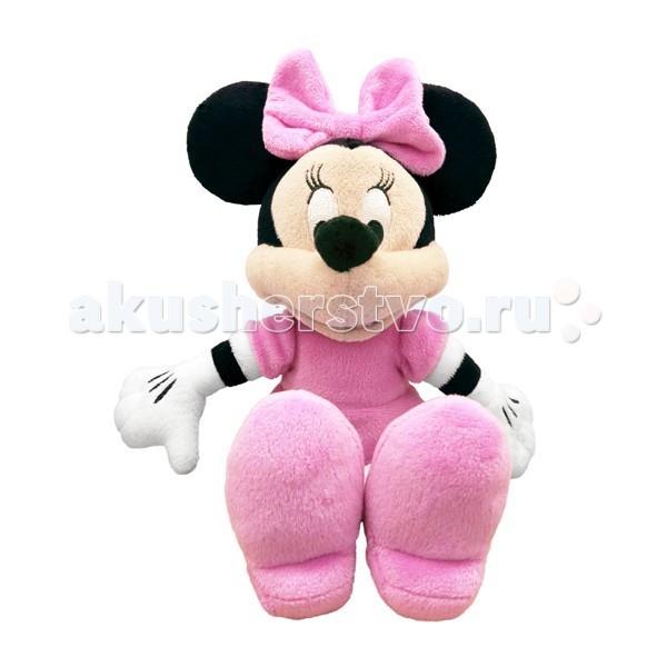 Мягкая игрушка Disney Минни 20 см 10468Минни 20 см 10468Минни 20 см 10468 – бессменная подружка мышонка Микки, милая и добрая, смешная и обаятельная. Минни очень романтичная натура и большая модница! Обожает садоводство, с удовольствием заботится о слабых и беззащитных и всегда готова прийти на помощь друзьям!  Небольшая плюшевая игрушка Минни – отличный выбор как для ребенка, так и для взрослого человека, выросшего на добрых и смешных мультсериалах студии Дисней.   Игрушка выполнена из высококачественных текстильных материалов, не имеет жестких пластмассовых деталей, о которых ребенок мог бы пораниться, поэтому малыш может брать её в кроватку. Прочно окрашена, легко стирается.  Высота куклы: 20 см<br>