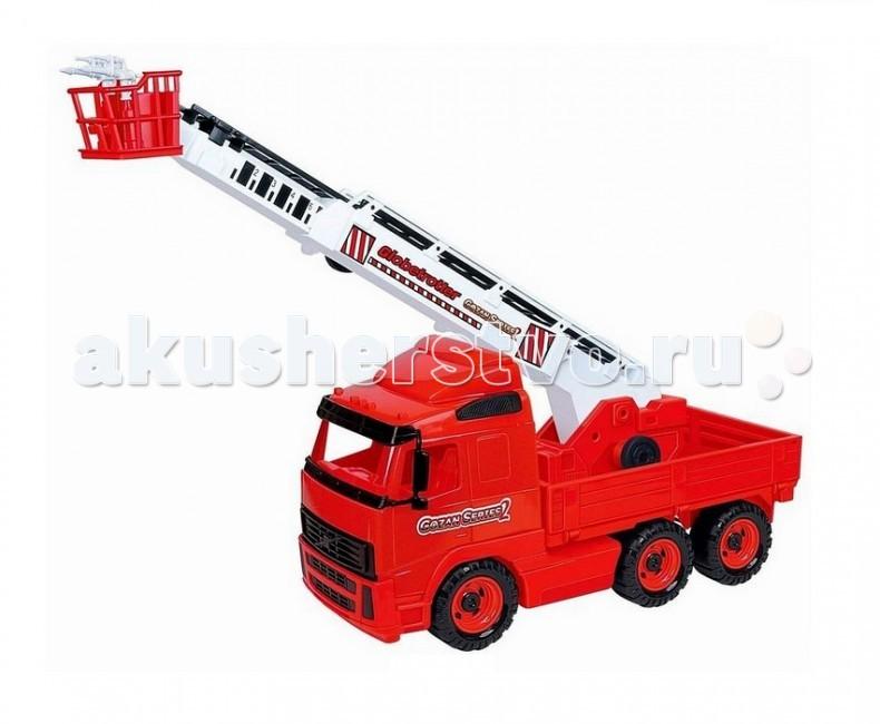 Wader Автомобиль пожарный с краномАвтомобиль пожарный с краномАвтомобиль пожарный с краном.   Наступает весна и все дети выходят играть на улицу. Для игр во дворе и в песочнице идеально подойдут самосвалы, автомобили с краном. Изюминка этой машины - поворотная платформа с пожарной лестницей, на конце которой расположена корзина с брандспойтами. Таким образом игрушечный автокран позволяет в полной мере имитировать реальные спасательные работы, дает возможность применить ребенку свою фантазию, помогает разыгрывать различные ситуации.   Это идеальная игрушка для игр на открытом воздухе и отлично подойдет для игры на даче, во дворе, на загородных участках, на площадках, в песочницах. Игрушки Wader отличаются высоким качеством, дизайном и функциональностью. Яркий и красивый дизайн понравится Вашему малышу!   Играть с машинами понравится любому малышу и доставит удовольствие как мальчику, так и девочке. Кто сказал, что девочки не могут управлять пожарными машинами? Им также как и мальчишкам будет очень интересно управлять этой пожарной машиной. Эта машина способна решать большие воспитательные задачи, развивает много хороших качеств: помощь друзьям и взрослым, ответственность, заботу, доброту и внимание. Оцените это и учите детей играть!   Детская пожарная машина с выдвижной лестницей имеет большие размеры: длина - 52 см, ширина - 19 см, а высота - 37 см.   Детский автокран - это пластмассовая игрушка, изготовленная из высококачественного сырья. В производстве этих машин используются безопасные материалы. Пластик не деформируется и не выгорает под солнцем.<br>