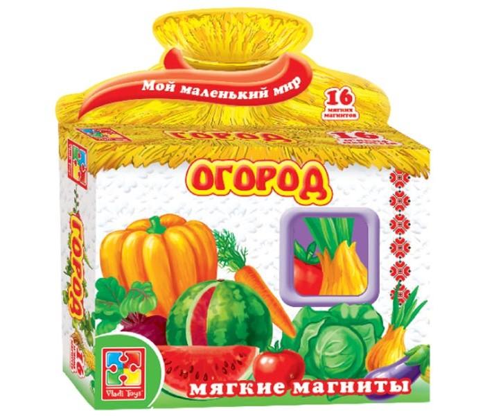 Vladi toys Игра магнитная Огород