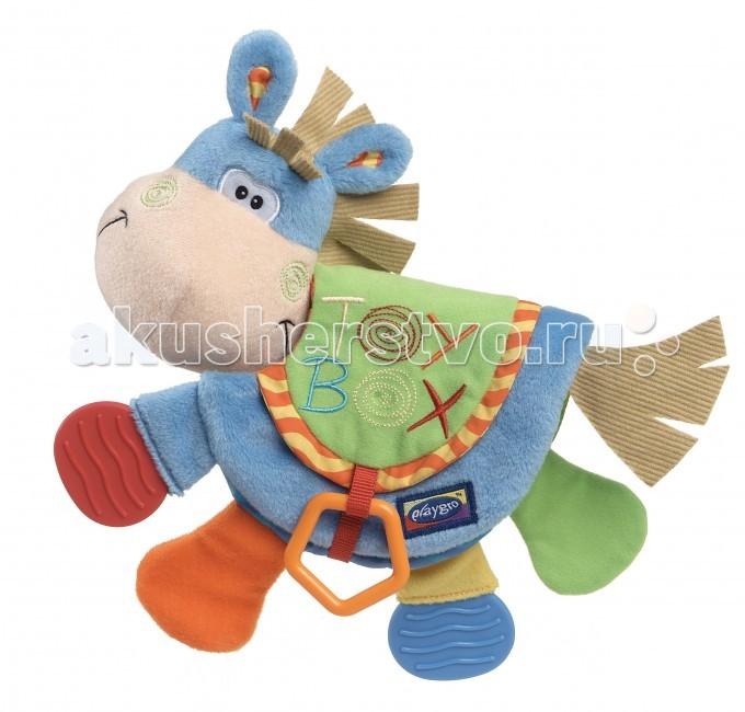 Книжки-игрушки Playgro Развивающая книжка Веселый Ослик 0101146