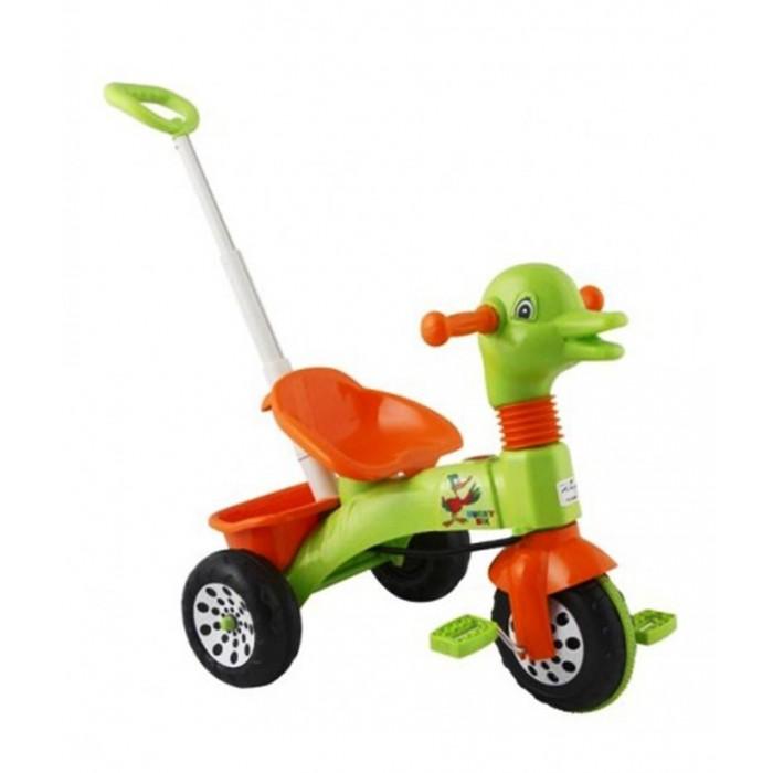 Велосипед трехколесный Pilsan Ducky с ручкой