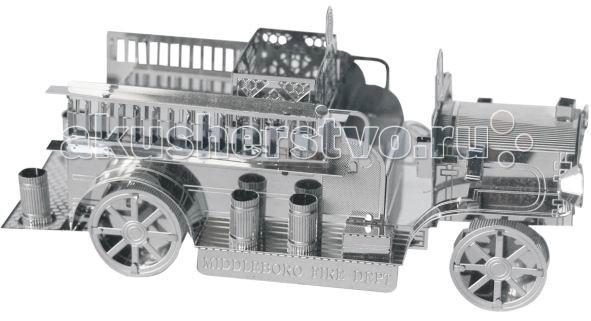 Конструктор Tucool Мини 3D паззл из металла Старинная пожарная машина