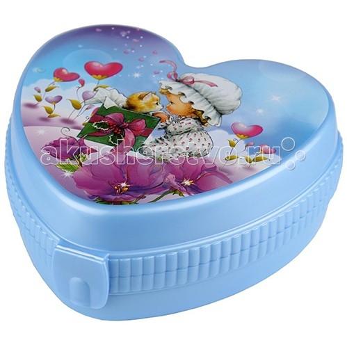 Альтернатива (Башпласт) Шкатулка ЛюбаваШкатулка ЛюбаваШкатулка Любава.   Шкатулка в форме сердца голубого цвета.   Станет незаменимым предметов для хранения полезных вещей в быту.   Компактная, легко закрывается.   Размер: 17.5х17х7 см<br>