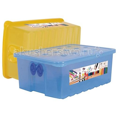 Альтернатива (Башпласт) Контейнер для карандашейКонтейнер для карандашейПластиковый контейнер подходит для хранения игрушек, а так же предметов для рисования и детского творчества.   Такие приспособления помогут приучать ребенка к порядку, а так же приятно дополнят интерьер детской комнаты.  Длина 225 мм  Ширина 150 мм  Высота 83 мм  Объем 2.0 л<br>