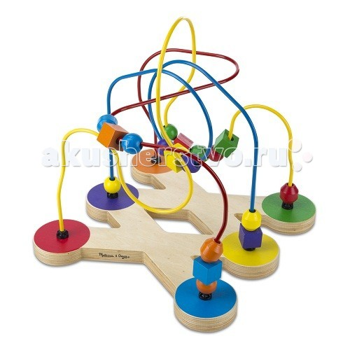 Деревянная игрушка Melissa & Doug Классические игрушки Лабиринт с бусинами