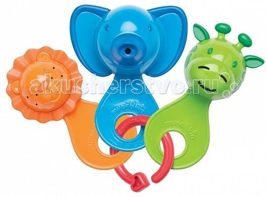 Munchkin Игрушка для ванны Веселые ситечкиИгрушка для ванны Веселые ситечкиMunchkin Игрушка для ванны Веселые ситечки - это набор разноцветных игрушек-ситечек развлечет ребенка во время купания и познакомит с окружающим его миром - ребенок с удовольствием будет зачерпывать и просеивать водичку, наблюдая, как она вытекает из разноцветных мордочек.     Особенности: развивает мелкую моторику  каждое ситечко имеет уникальный рисунок сетки  мягкие края для удобства хватания  подходит для детей с 6 месяцев<br>