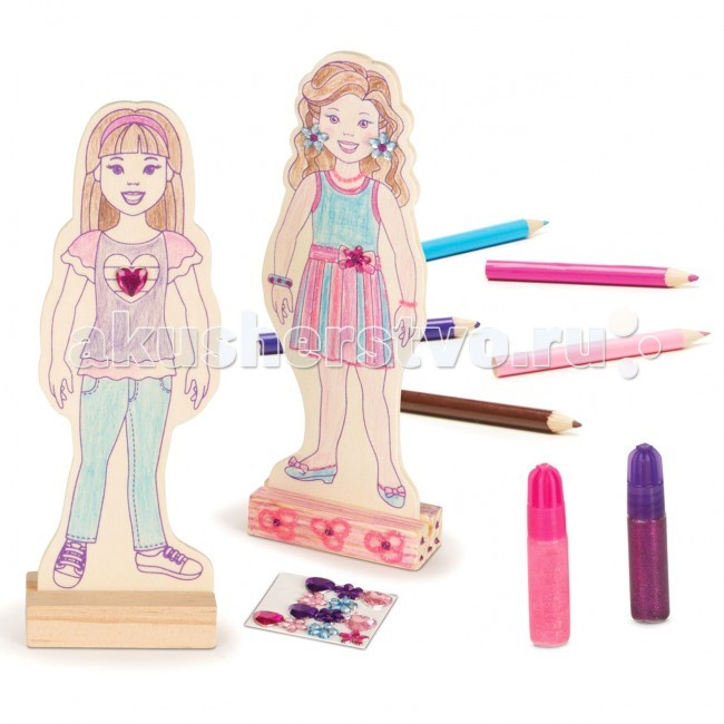 Деревянная игрушка Melissa & Doug Классические игрушки Куклы