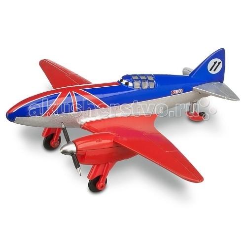 Disney Mattel Planes Самолет Bulldog 1:55