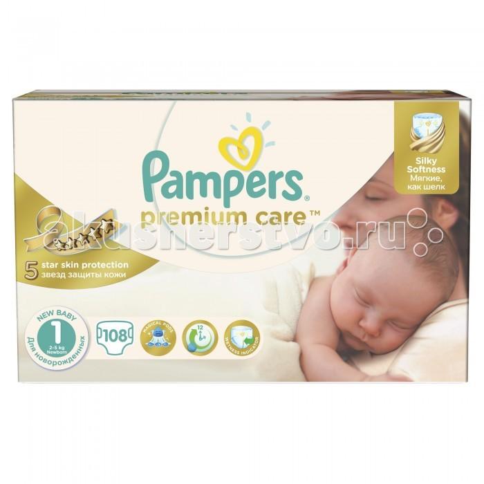 Pampers ���������� Premium Care Newborn �.1 (2-5 ��) 108 ��.
