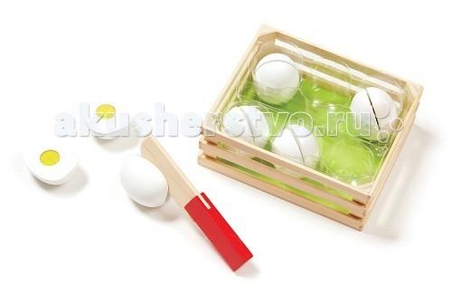 Деревянная игрушка Melissa &amp; Doug Классические игрушки Отсортируй по цветам яйцаКлассические игрушки Отсортируй по цветам яйцаДеревянная игрушка Melissa & Doug Классические игрушки Отсортируй по цветам - отличное дополнение к любимой кухне малыша.  Малышу, при помощи разрезания яиц деревянным ножом, нужно собрать желтки по цветам!  Игра развивает восприятие цветов, мелкую моторику и воображение.  Компания Melissa&Doug придерживается самых высоких стандартов качества и безопасности детских образовательных продуктов для детей. Melissa & Doug - это один из ведущих брендов деревянных игрушек, используемые компанией покрытия и красители нетоксичны.<br>